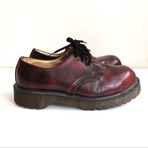 Vintage Dr Marten Oxford Shoes Platform
